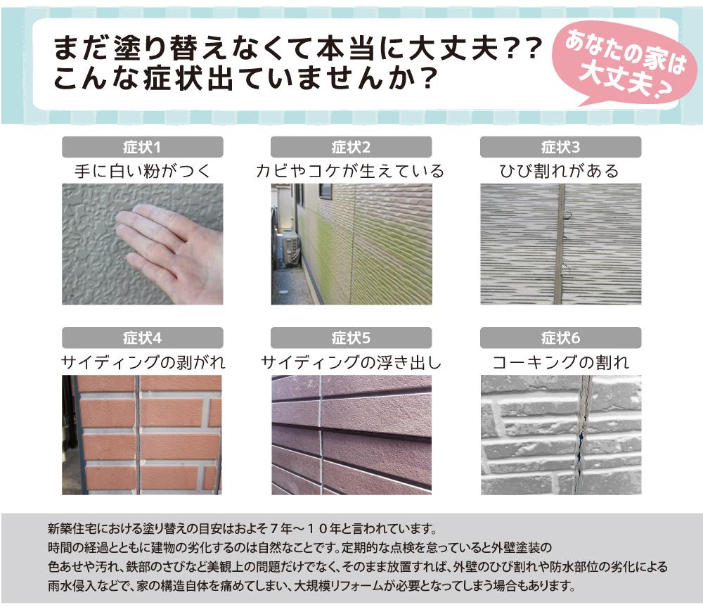 外壁塗装業界No.1に挑戦する。海老名市、大和市、藤沢市の外壁塗装ならおまかせ!ネットで簡単見積り