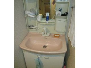 洗面台リフォームの写真