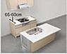アイランドII型のキッチンスペースの写真