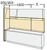 間口2550mm~2700mmのキッチンのイメージ