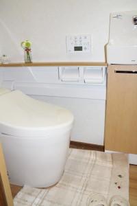 トイレ内装アフター