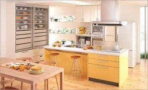 yellowキッチン