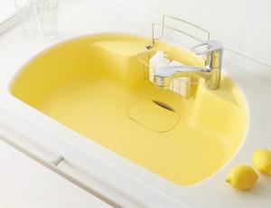 シンク 黄色