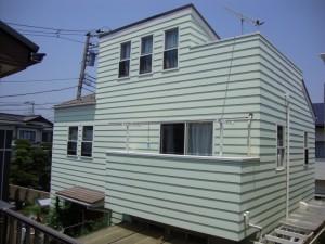 外壁屋根塗装 施工前 藤沢市辻堂