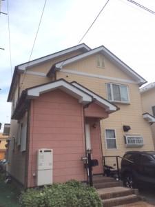 施工前 屋根外壁塗装 藤沢市