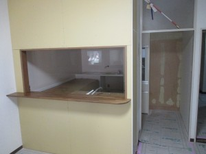 開放感 キッチン