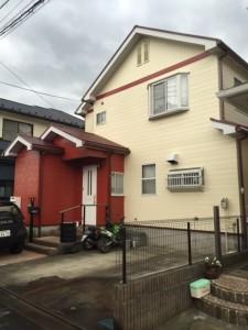 秀建 屋根外壁塗装例 藤沢市