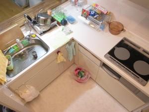 キッチン施工後 L型