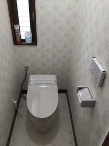 海老名市 TOTOトイレ 施工後