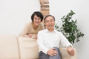 快適なくらし 笑顔の夫婦