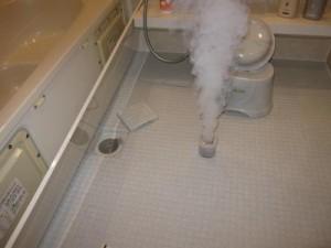 煙剤 お風呂カビ対策