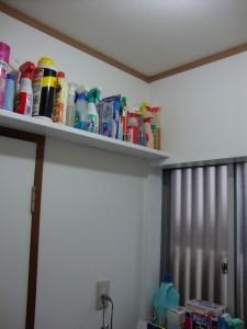 施工後 洗面室 明るい