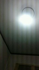 トイレ室 暗い 施工前