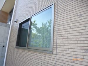 秀建 窓の防犯対策 施工前
