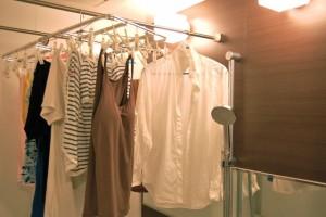 浴室 洗濯物乾燥