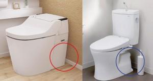トイレ 掃除のしやすさ比べ
