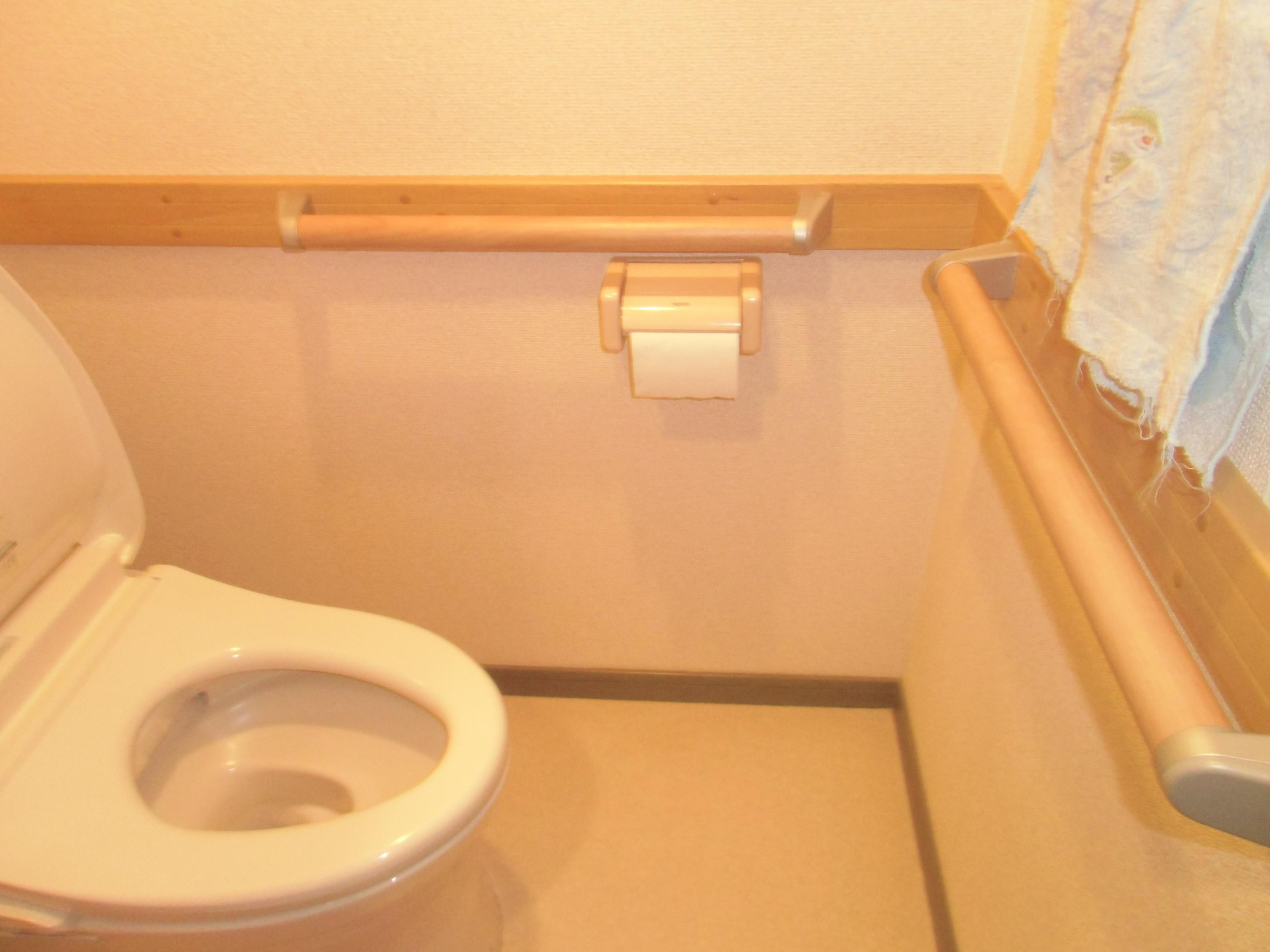 トイレの手すり1
