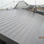 屋根のシリコン塗装アフター