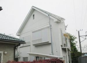 外壁塗装施工前の写真