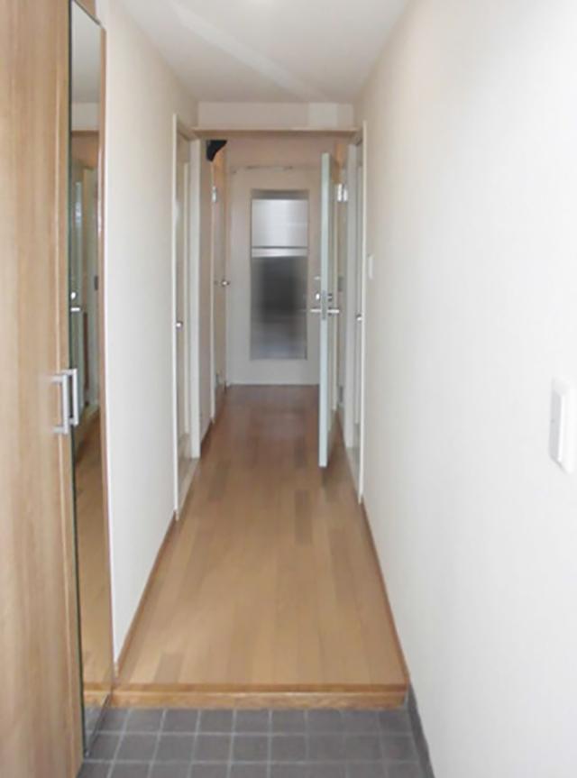 廊下施工後1