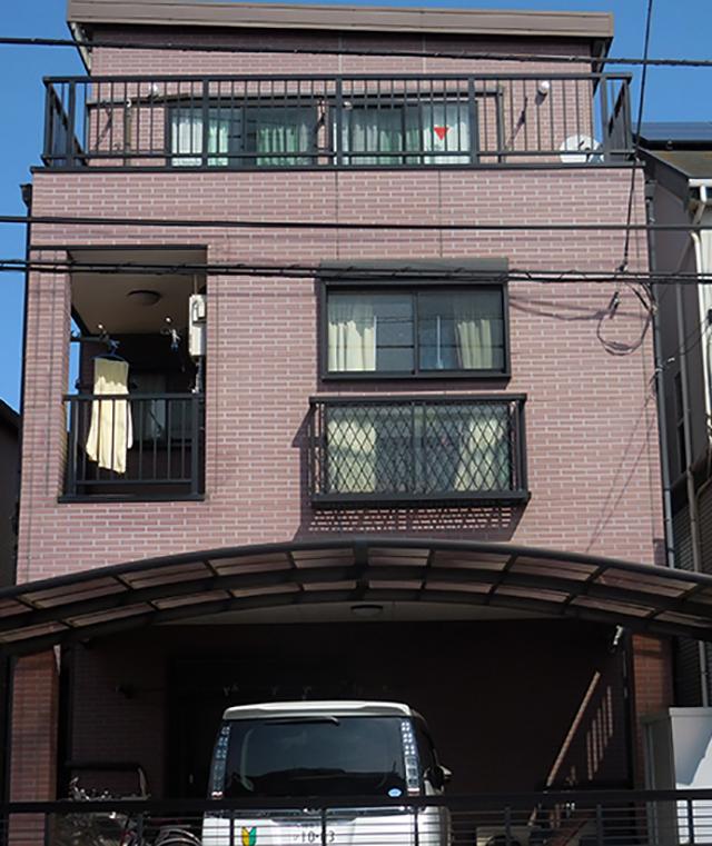 寒川濱宮様邸外壁2