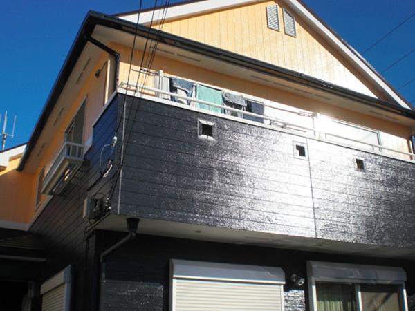 森田邸外壁塗装工事