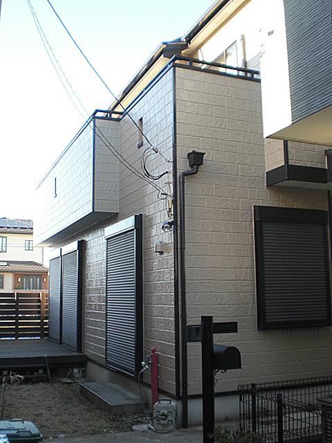白木邸外壁塗装1