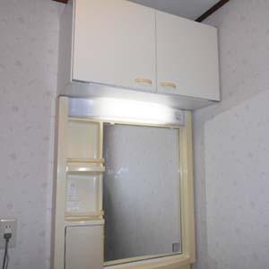大和市で洗面化粧台のリフォームビフォー1
